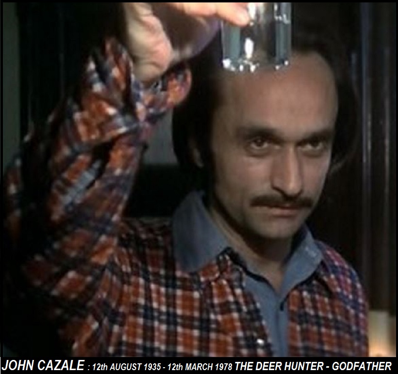 12th AUGUST : JOHN CAZALE