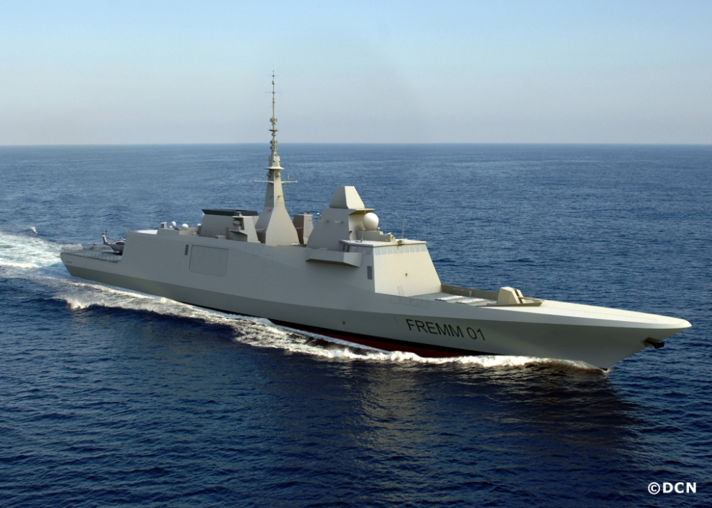 FREMM DCNS FRENCH FRIGATE DIEULOIS