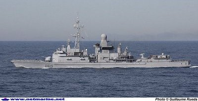 FRENCH FRIGATE JEAN BART