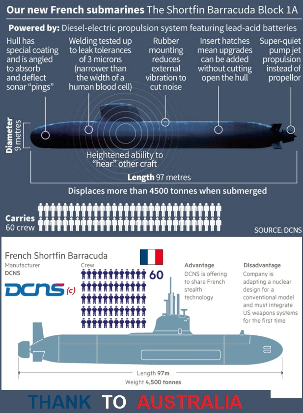 DCNS Barracuda submarine