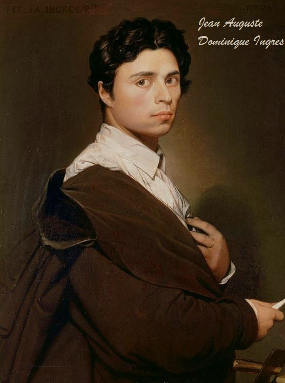 SELF PORTRAIT INGRES-DIEULOIS