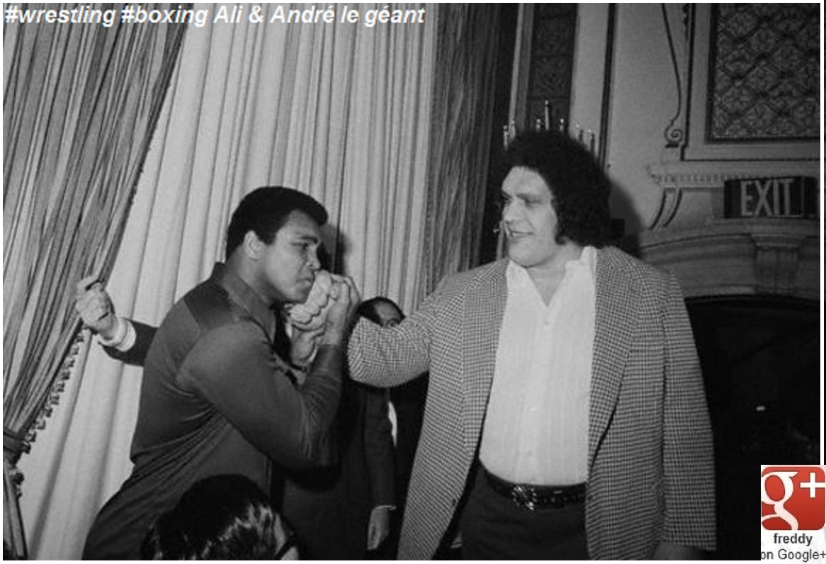 FRENCH WRESTLER ANDRE THE GIANT-DIEULOIS