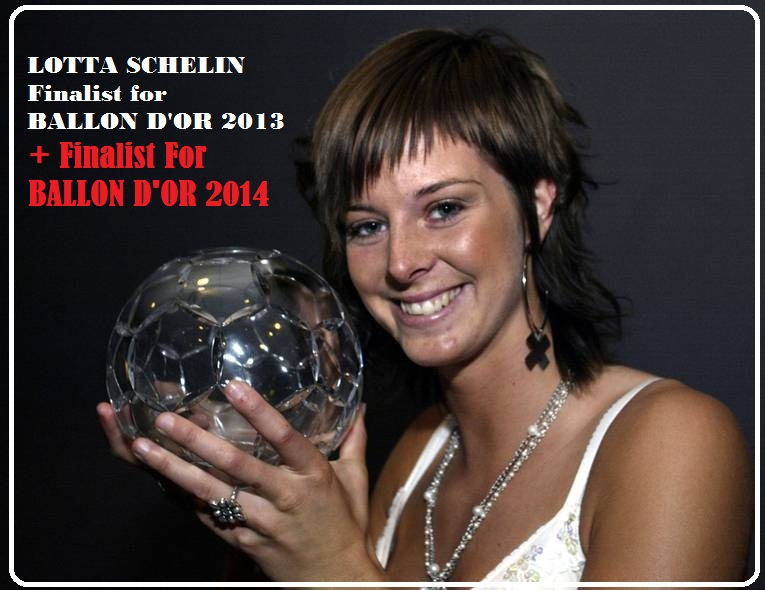 LOTTA SCHELIN : 2013 BEST PLAYER IN FRANCE by Frederic PETIT-DIEULOIS