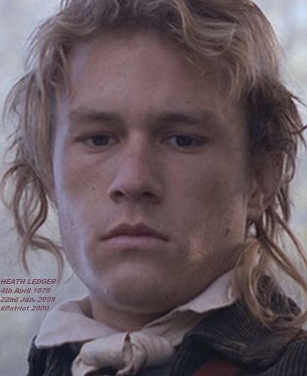HEATH LEDGER 22JAN PATRIOT