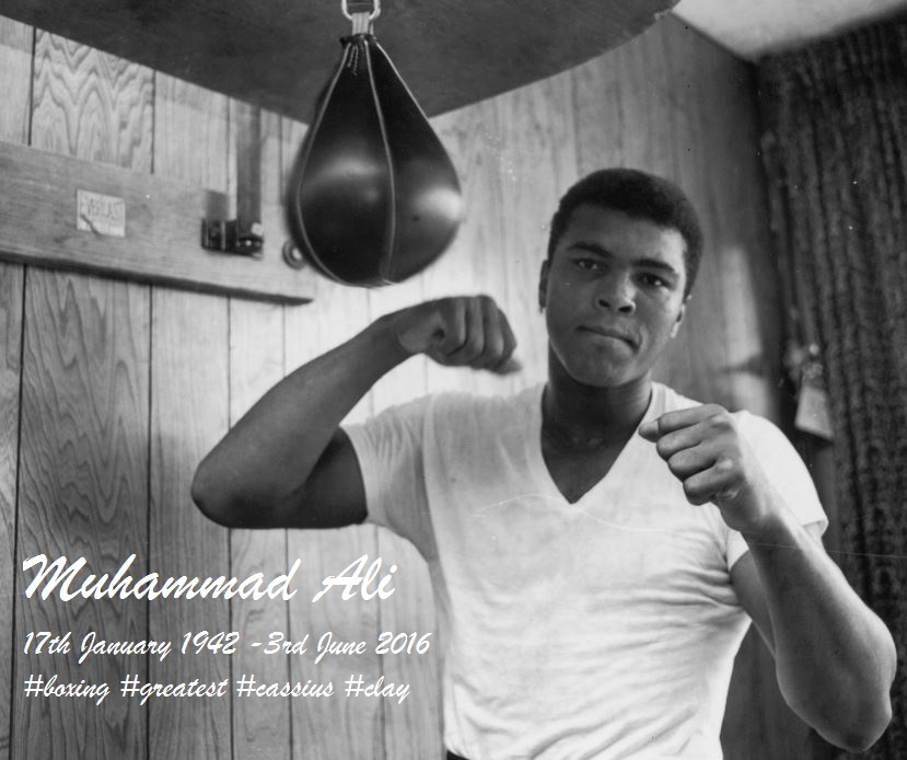 THE GREATEST MUHAMMAD ALI -DIEULOIS