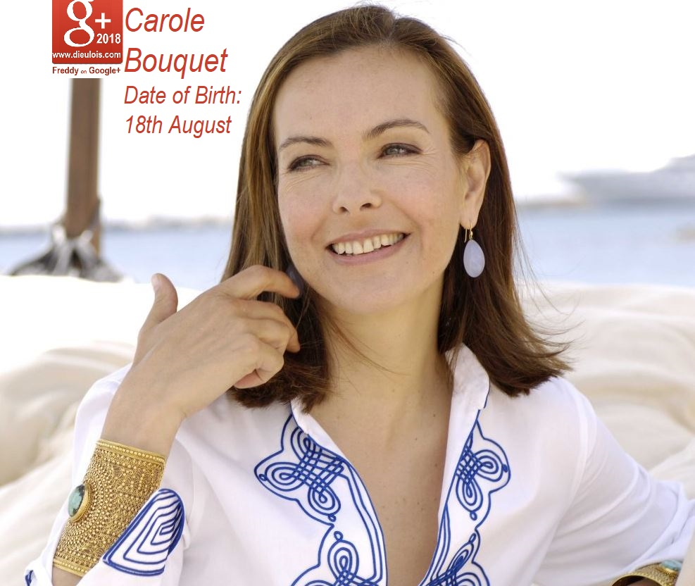 CAROLE BOUQUET FRENCH JB GIRL  PETIT-DIEULOIS