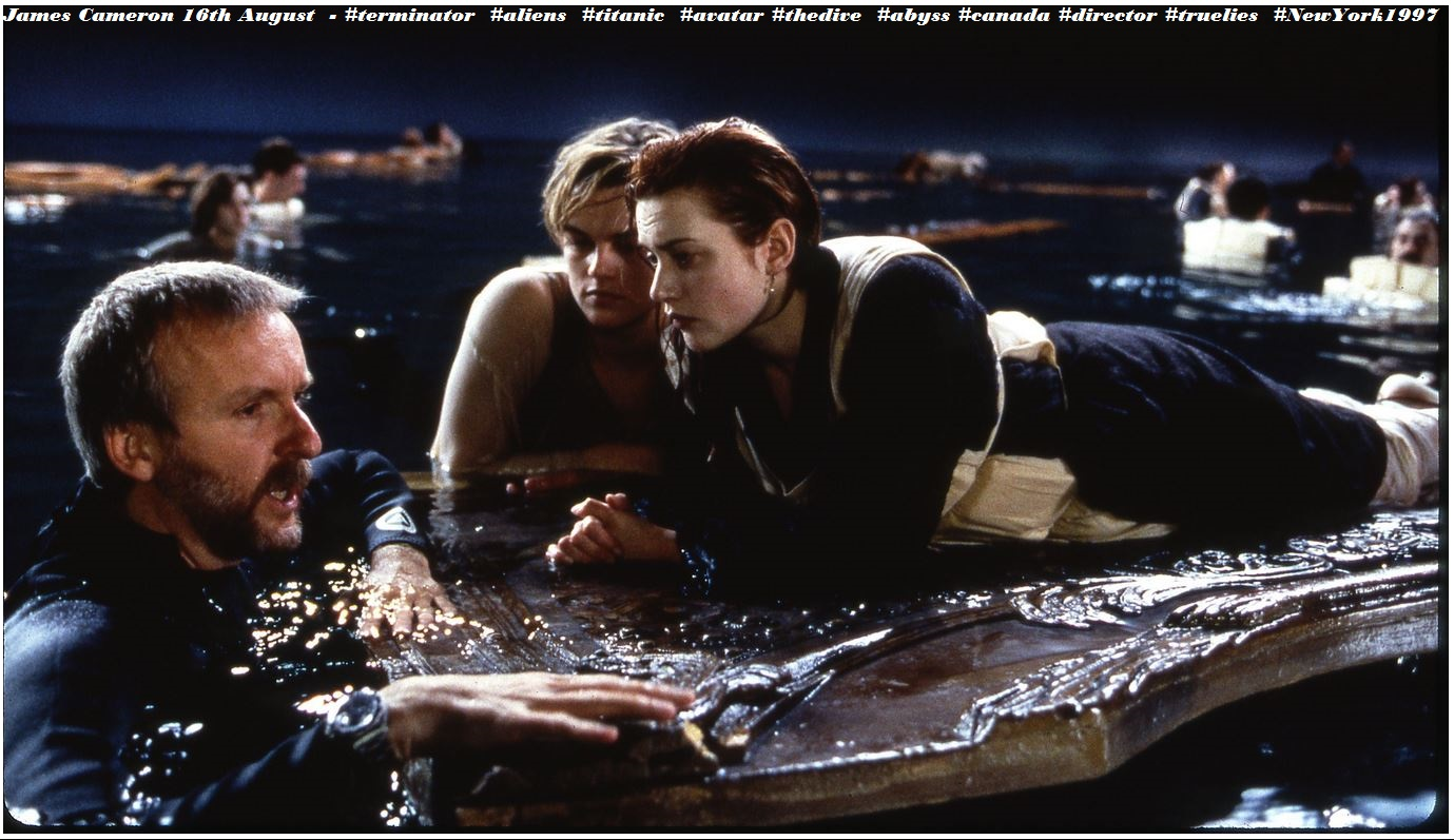 1997 TITANIC - JAMES CAMERON