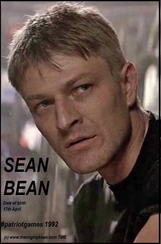 SEAN BEAN PATRIOT GAMES 1992 DIEULOIS
