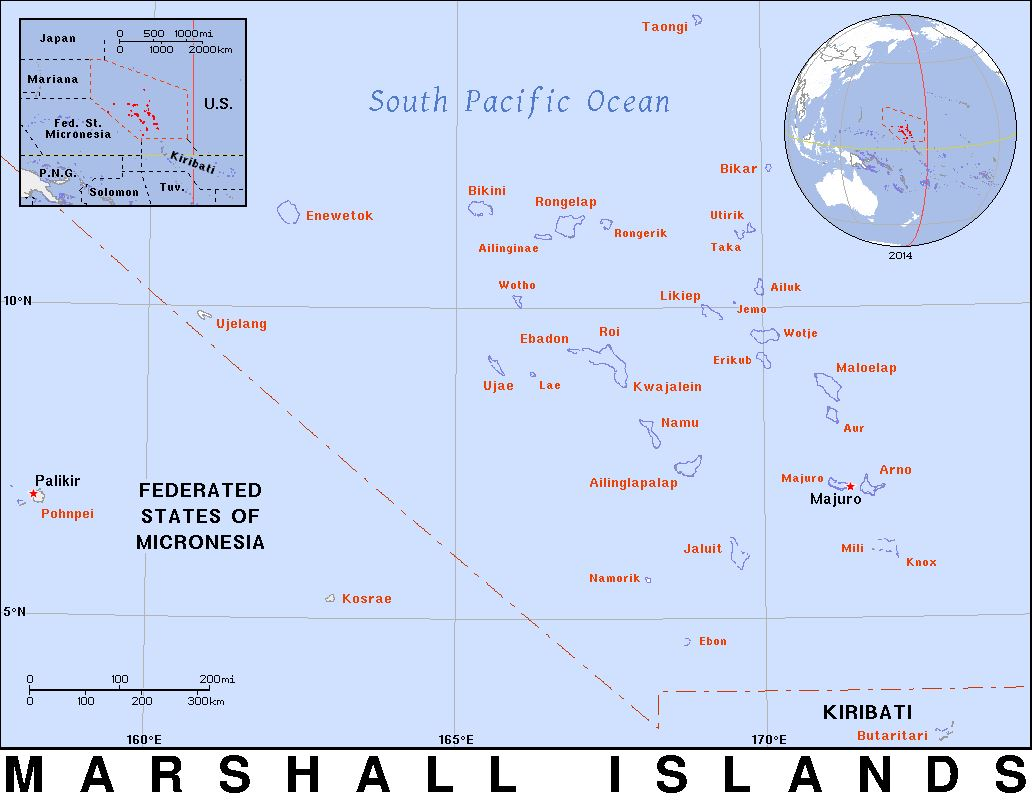 MARSHALL ISLANDS: US ATOMIC ISLANDS