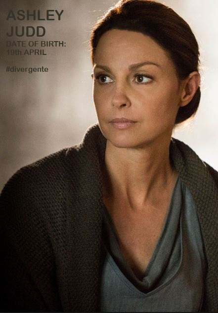 DIVERGENTE 2014 ASHLEY JUDD:19th APRIL:PETIT-DIEULOIS