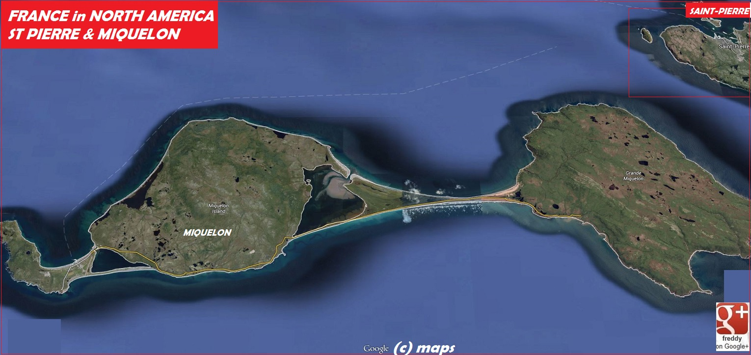 SaintPierre Miquelon::PLAN & MAP & COUNTRY