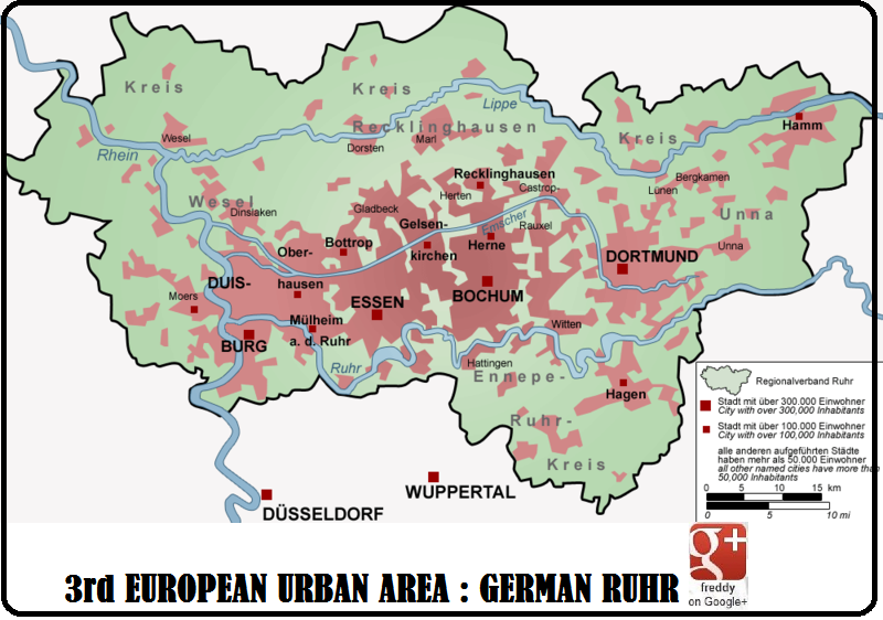3rd E.U. AREA : GERMAN RUHR by Frederic DIEULOIS