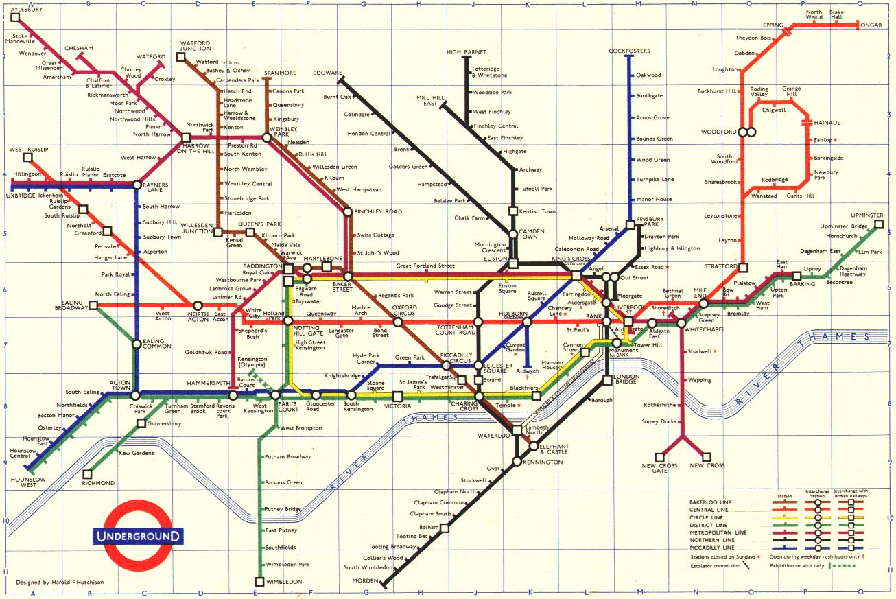 London metro::PLAN & MAP & CARTE