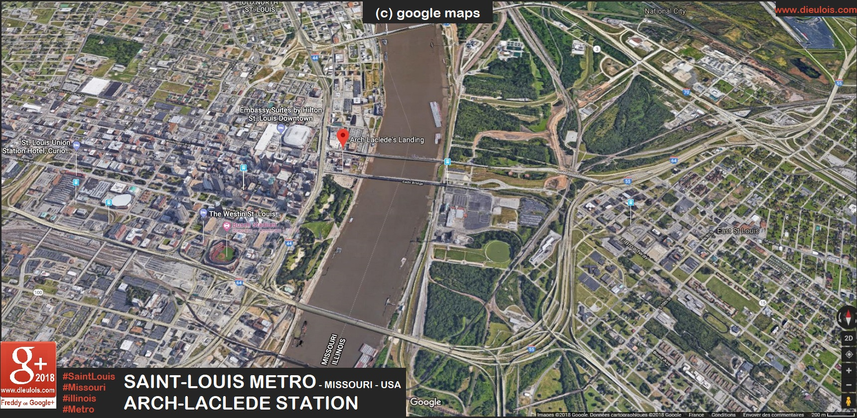 SaintLouis metro::PLAN & MAP & CARTE