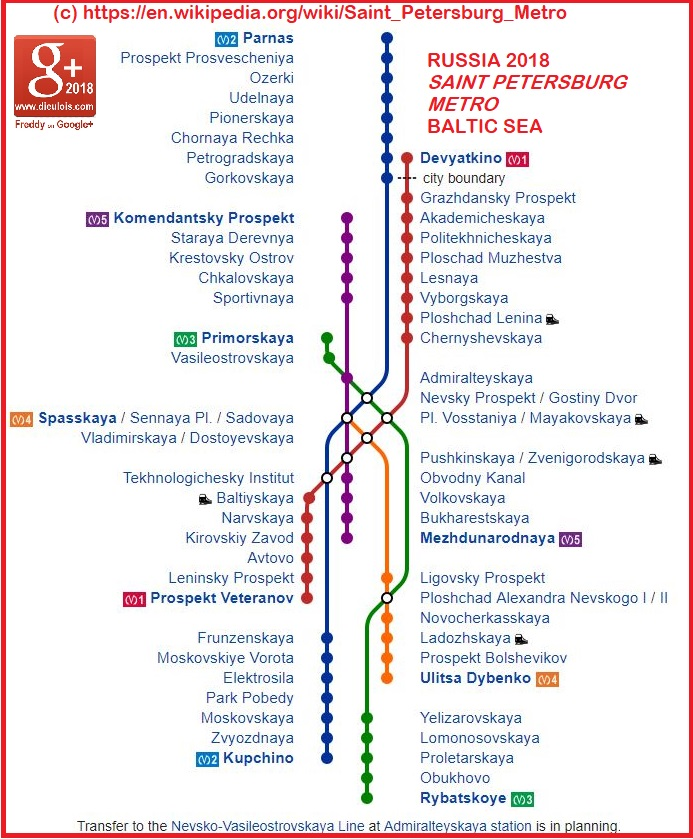 SaintPetersburg metro::PLAN & MAP & CARTE