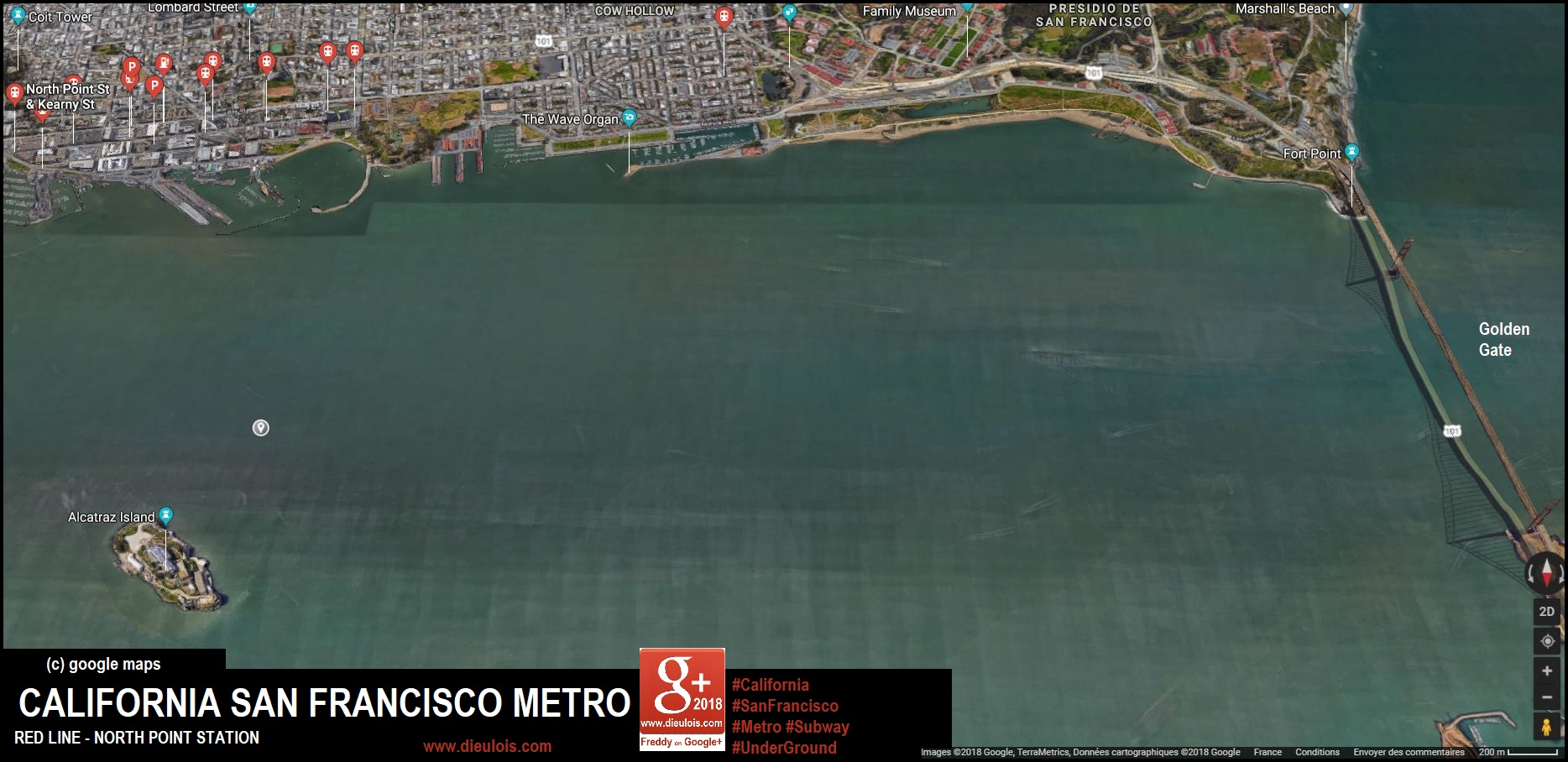 SanFrancisco metro::PLAN & MAP & CARTE