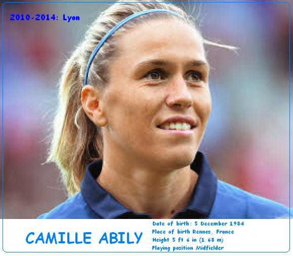 CAMILLE ABILY - FRENCH MIDFIELDER
