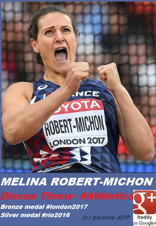 MELINA ROBERT-MICHON DISCUS THROW ATHLETICS PETIT-DIEULOIS