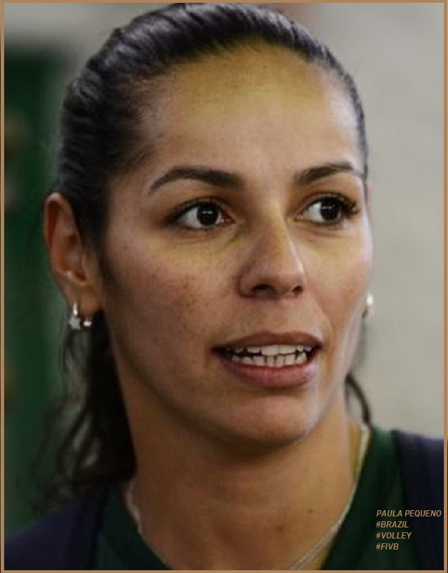 PAULA PEQUENO - BRAZIL VOLLEYBALL by Frederic PETIT-DIEULOIS