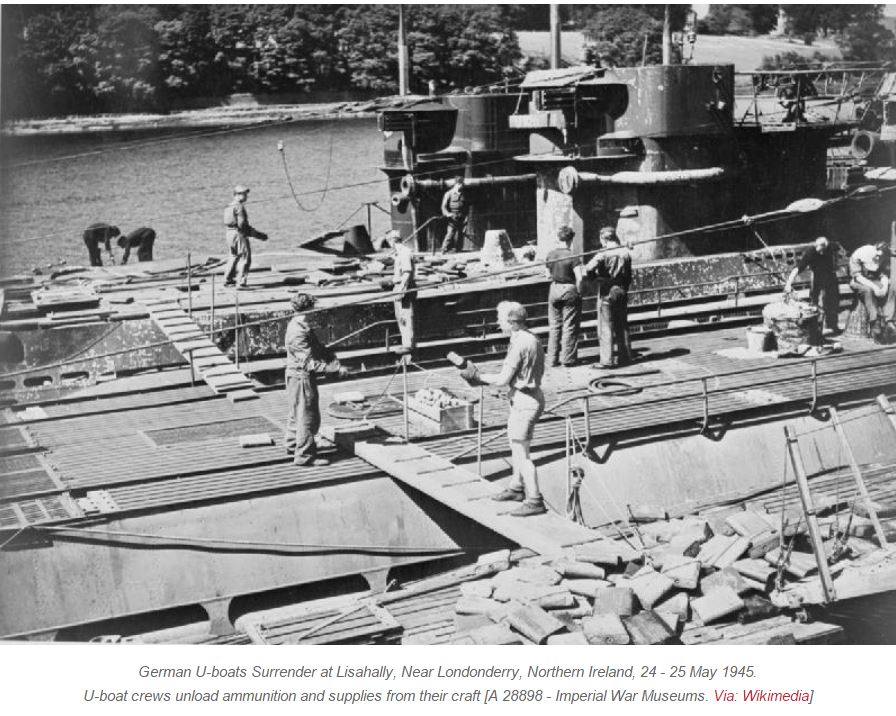 OPERATION DEADLIGHT : DESTROY GERMAN SUBMARINES