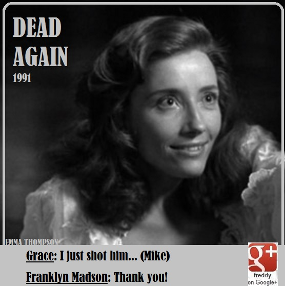 EMMA THOMPSON- DEAD AGAIN by Frederic PETIT-DIEULOIS