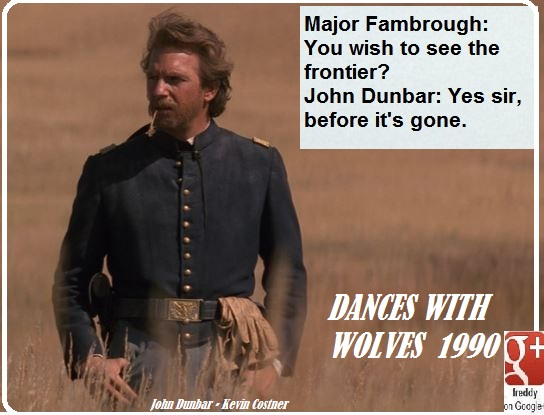 DANCES WITH WOLVES - 1990 PETIT-DIEULOIS