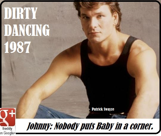 BIRTHDAY OF PATRICK SWAYZE DIRTY DANCING DIEULOIS