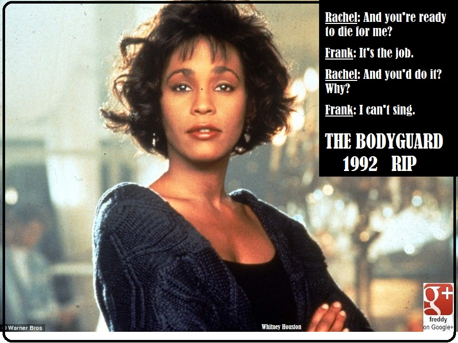 WHITNEY HOUSTON- BODYGUARD : Pic : (c)Warner Bros by Frederic PETIT-DIEULOIS