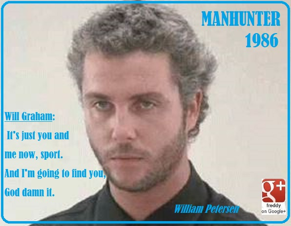 WILLIAM PETERSEN - MANHUNTER 1986 PETIT-DIEULOIS