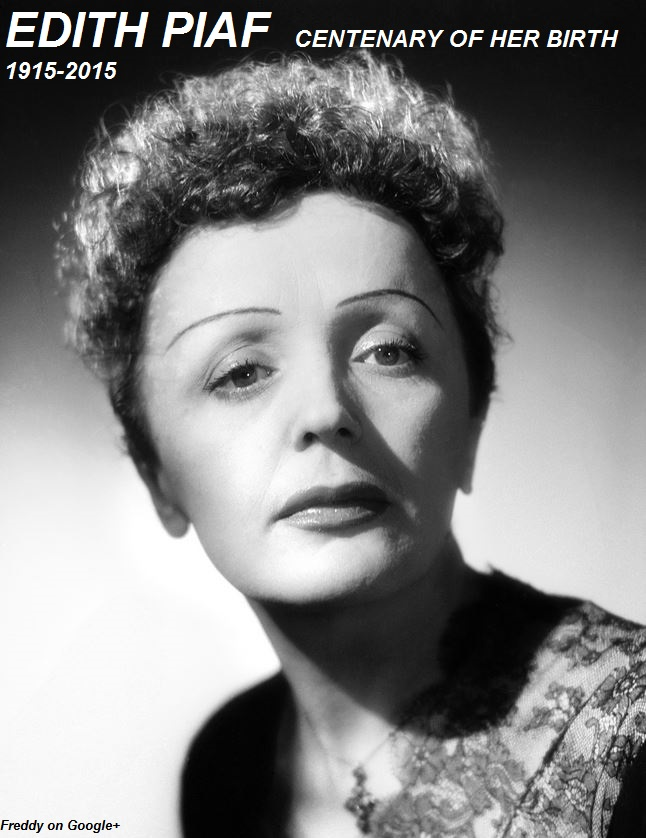 EDITH PIAF CENTENARY OF HER BIRTH PETIT-DIEULOIS