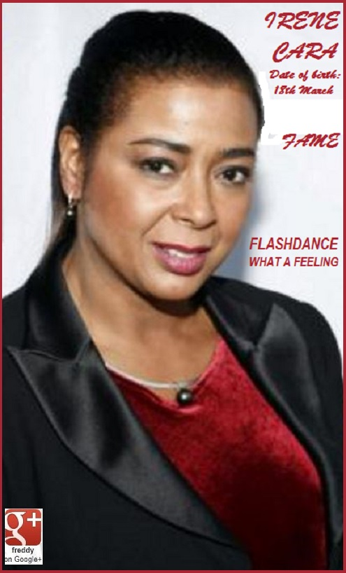 IRENE CARA WHAT A FEELING FLASHDANCE -FAME