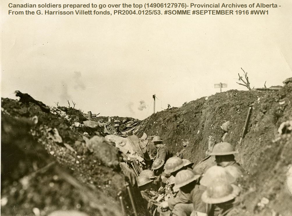 FLERS SEPT 1916 BATTLE SOMME 1916 DIEULOIS