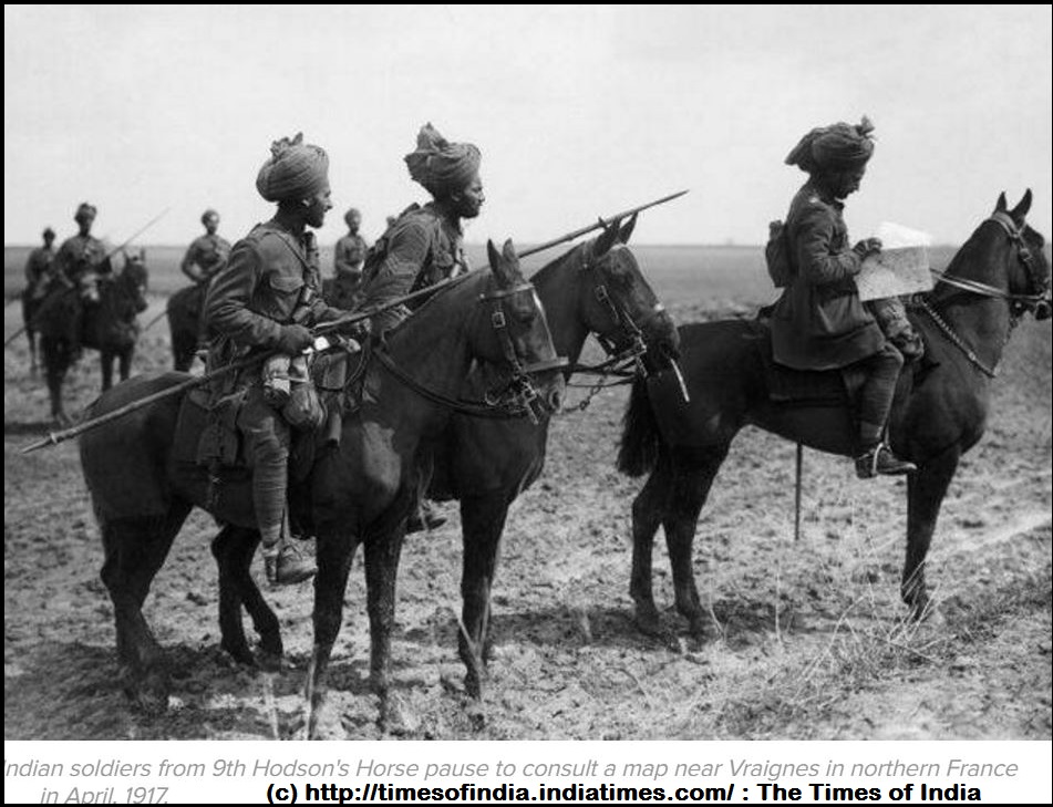 INDIAN SOLDIERS ww1 Somme DIEULOIS