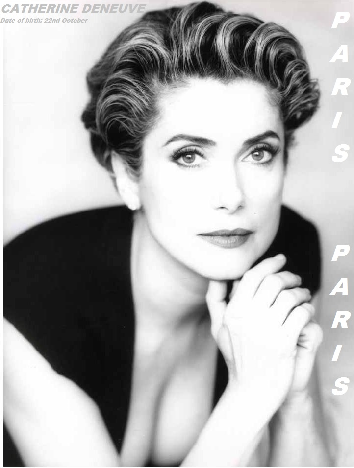 CATHERINE DENEUVE- BEST FRENCH ACTRESS  PETIT-DIEULOIS