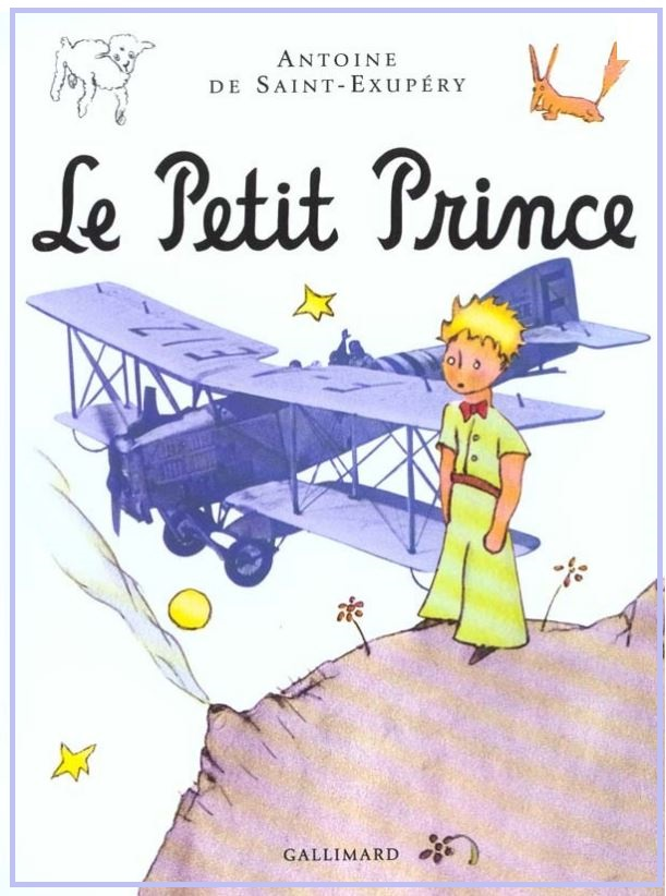 SAINT EXUPERY THE LITTLE PRINCE DIEULOIS