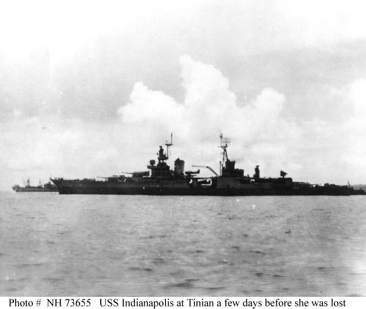 SINKING OF USS INDIANAPOLIS1945