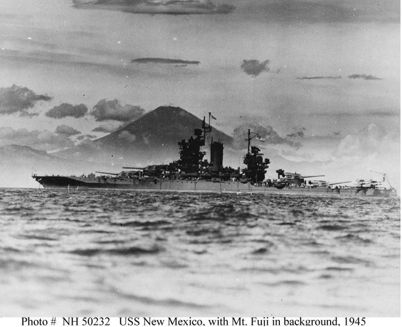 USS MISSOURI TASK FORCE 31 DIEULOIS