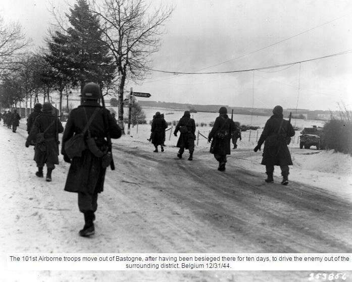 BATTLE OF BULGE : DEC 44-JAN45 PETIT DIEULOIS