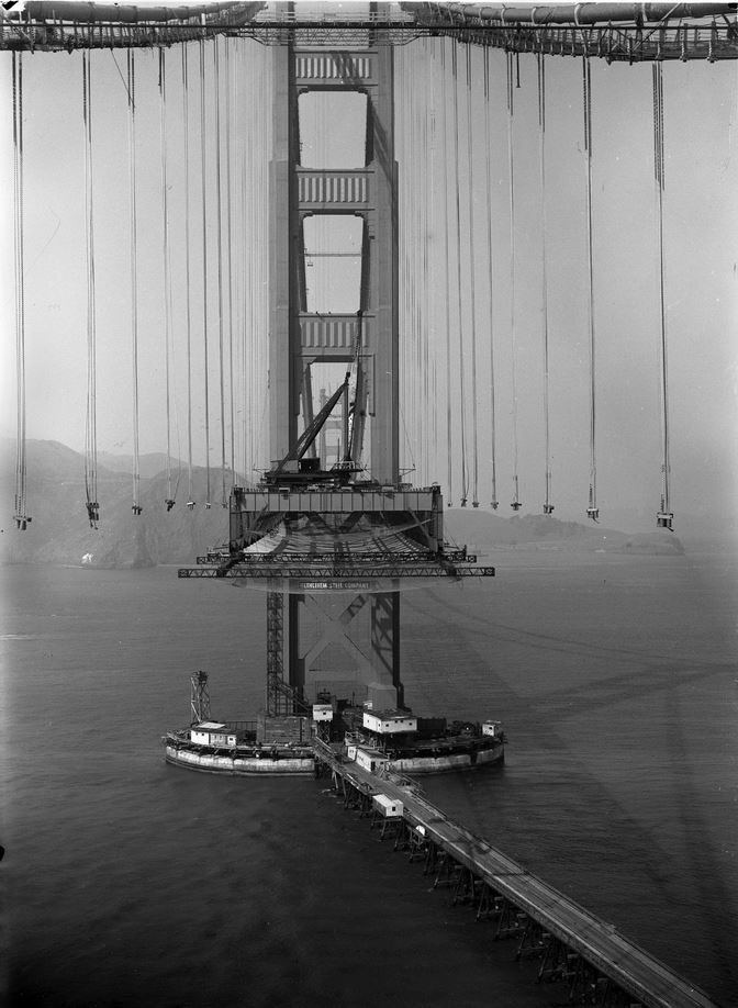 1935 GOLDEN GATE BRIDGEPETIT-DIEULOIS