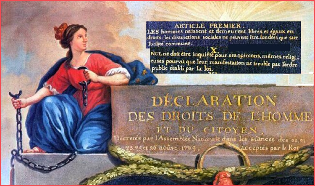 HUMAN RIGHTS 1789  AGAINST SLAVERY PETIT-DIEULOIS