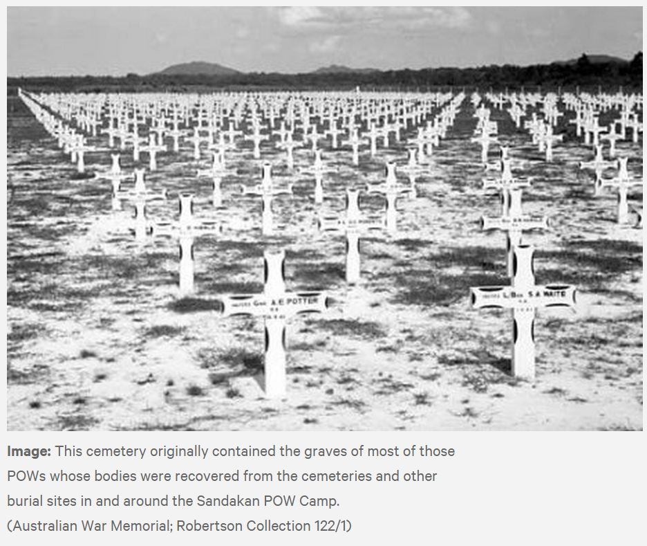 AUSTRALIAN POW SURVIVING CAMPS