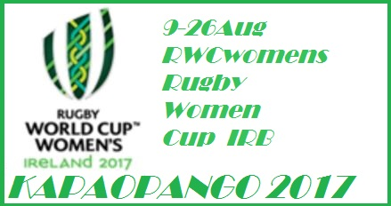 WRWC 2017 Rugby Women World Cup Ireland