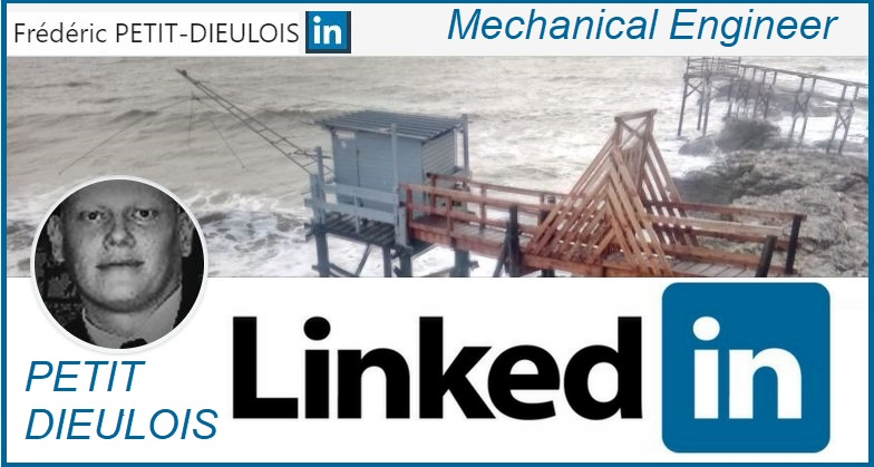 LINKEDin MECHANICAL - MATERIAL ENGINEER FREDERIC PETIT-DIEULOIS
