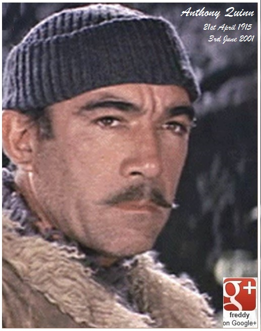 ANTHONY-QUINN-THE GUNS OF NAVARONE PETIT-DIEULOIS