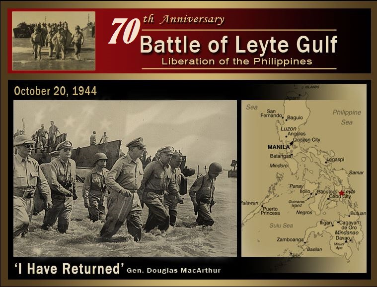 BATTLE OF LEYTE GULFdieulois