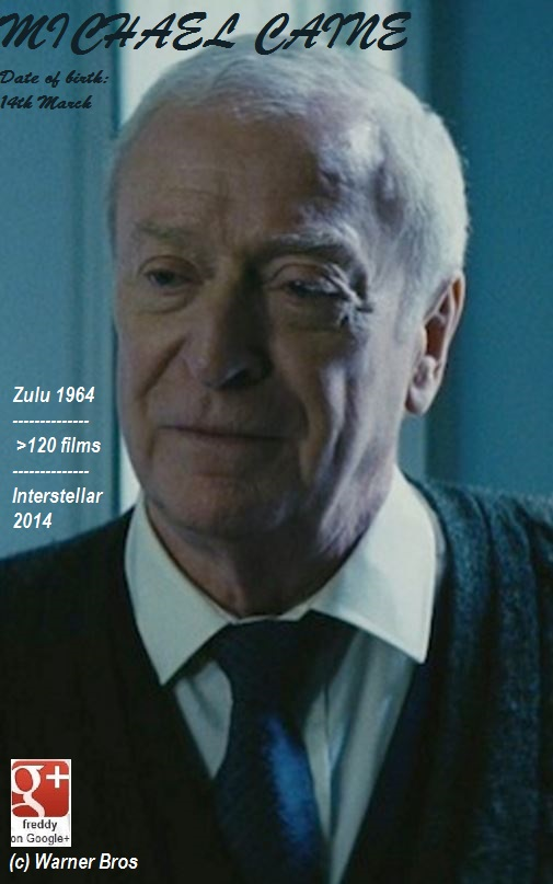 INTERSTELLAR with MICHAEL CAINE DIEULOIS
