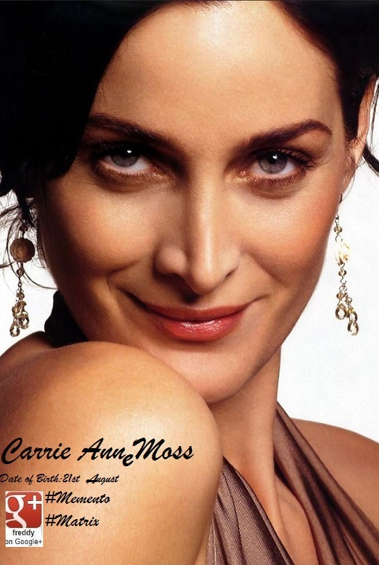 CARRIE ANNE MOSS PETIT-DIEULOIS