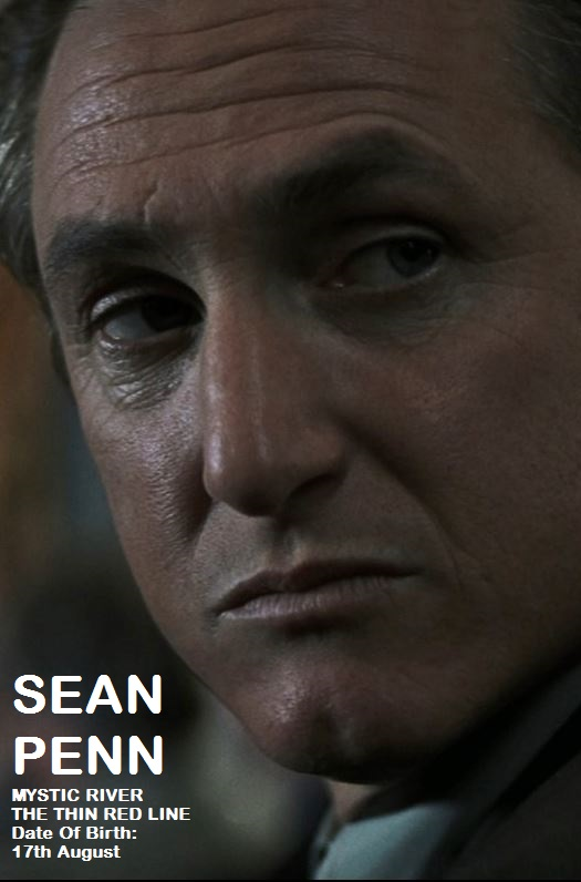 SEAN PENN 17th AUGUST MYSTIC RIVER  PETIT-DIEULOIS