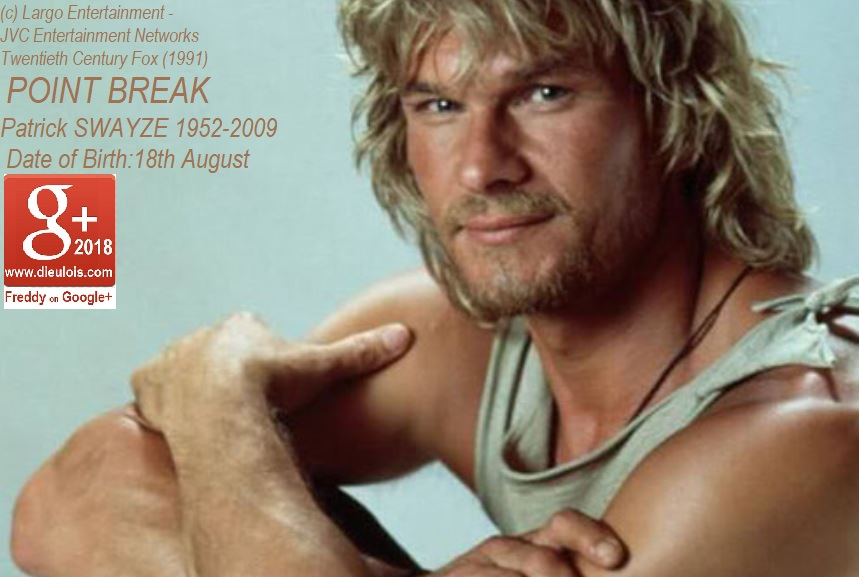 BIRTHDAY OF PATRICK SWAYZE DIEULOIS