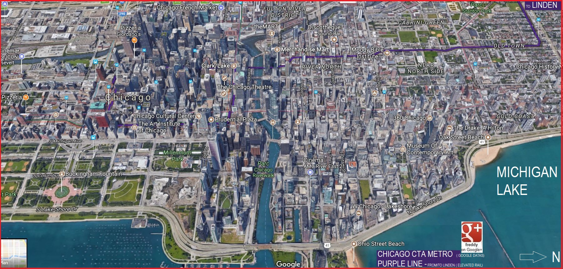 Chicago Usa::PLAN & MAP & COUNTRY